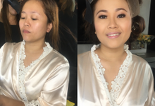 My Bride Ms Fritzie from Cambodia  by Make Up Artistry by Jac Sindayen