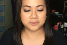 Ms Charise Arevalo for her Mom's Golden Wedding  by Make Up Artistry by Jac Sindayen