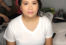 Jamie Bridesmaid for her brother's Wedding  by Make Up Artistry by Jac Sindayen