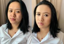 Bridesmaid of Ms Jiemar  by Make Up Artistry by Jac Sindayen
