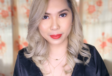 Ms. Therese Conti Daet for her Christmas Party by Make Up Artistry by Jac Sindayen