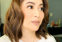Ms Jac for her company thanksgiving party by Make Up Artistry by Jac Sindayen