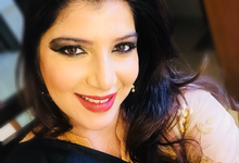 Evening functions  by make up by Pooja