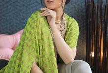Sangeet look  by make up by Pooja