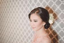 Ayu & Ibel Engagement by Make up by Sarah Mashitta