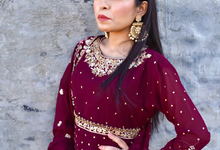 Shoot for a punjabi song by makeover by cathy