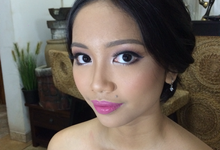 Flawless fresh look for Beautiful Dyah by ekaraditya4makeup