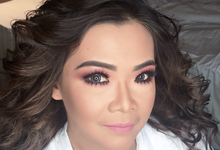 Glam Beauty Look for Mrs. M by ekaraditya4makeup