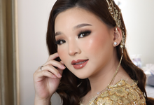 BRIDE'S EVENING LOOK by Makeup by Ng Nita