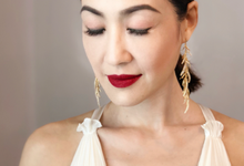 Amy J Cheng's hair and makeup by Dollei Seah by MAKEUP ENTOURAGE