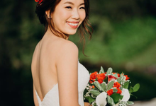 Elizabeth Chin Prewedding by Makeup Pros