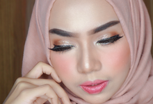 Wedding Makeup test for Ms. Lanna by Makeupbyamhee