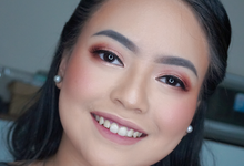 Bridesmaid makeup for Ms. Asta by Makeupbyamhee