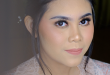 Bridesmaid Makeup for Ms. Tasya by Makeupbyamhee