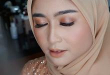 Bridesmaid makeup for Ms. Sasha by Makeupbyamhee