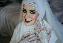 Arabian Reception by Makeupbysausan