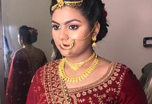 Bridal makeup by makeupbysilv
