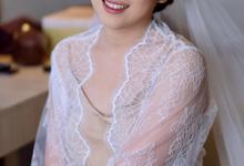 Wedding Makeup for Ms. Maria by makeupbyyobel