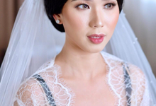 Wedding Makeup Ms. Felicia by makeupbyyobel
