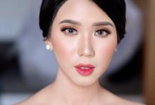 Wedding Makeup Ms. Felicia by makeupbyyobel