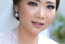Wedding Makeup - Bride Sally - by makeupbyyobel