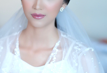 Wedding Makeup - Bride Agnes - by makeupbyyobel