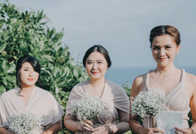 Daniel & Raissa • Soft Cream  by MALVA Bridesmaids