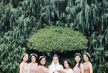 ANDREW & TABITA • SHADES OF PASTELS by MALVA Bridesmaids