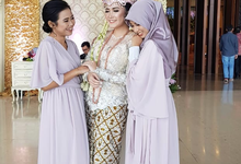 REYHAN & CITRA • Modest Lilac by MALVA Bridesmaids