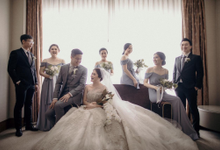 ANDY & STEVANY • LILAC GRAY by MALVA Bridesmaids