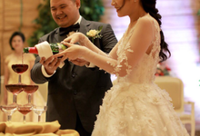 Wedding Reception of Harry & Fina by Mandalika Wedding Organizer