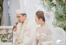 From The Wedding Gilang Dirga & Adiezty Fersa by Mahar Pernikahan Unik