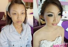 Margaret Wedding Makeup by Margylove Makeup