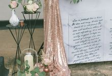 Marble & Copper Theme by Suitcase Weddings