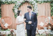 Citra & Marcel Wedding At Tjendana Bistro by Josh & Friends Entertainment