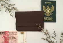 Passport Wallet by Marco Mario Souvenir