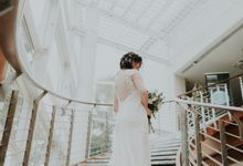 Ying Hui & Marc Wedding by Nicolas Laville Couture