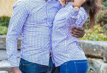 Sylvie and Kadi Engagement session at Dallas Arboretum by The GRACE Pictures