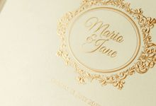 Mario & Jane by Meltiq Invitation