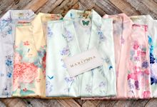 Bride-To-Be Robes by The Mariposa Collection