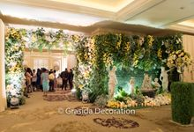 Marlamb & Sharon Wedding at Mulia Hotel Jakarta by Grasida Decoration