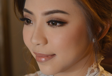 Stephanie and Marcel wedding  by Marlene Neysa Makeup