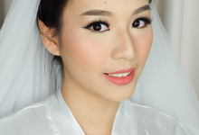 Wedding Makeup for Valencia by Marmel Makeup Artist