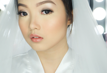 Wedding Makeup for Shania by Marmel Makeup Artist