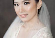 Wedding of Anie by Marmel Makeup Artist