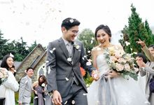 Marry someone who will be there on your darkest times - The wedding of Winson and Vania by Aha by Axioo