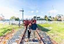 Prewedding of Marsha and Dimas by Widfotografia