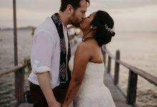 Martha & Casey Wedding at Plataran Labuan Bajo Flores by AKSA Creative