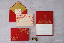 FALLING IN LOVE by BloomingDays Invitation Studio