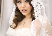 Wedding makeup by Maryemakeuparts